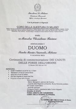 duomo 2003