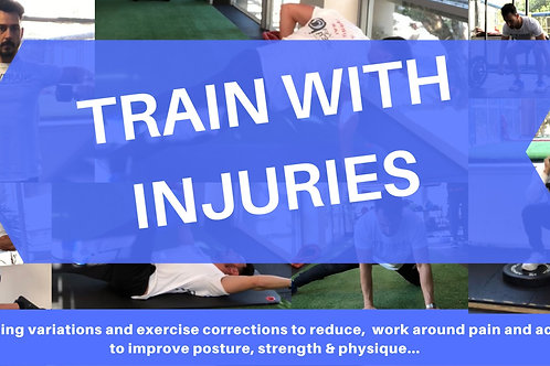 Working with injuries personal training