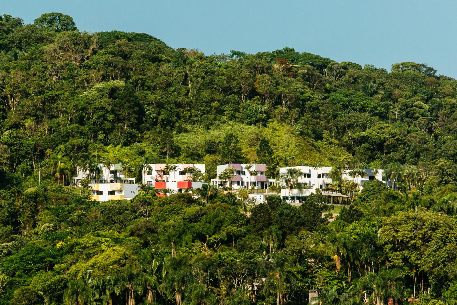 Hotel vista da Prainha Caieiras