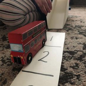 Pre-Writers Club: Cereal Box Car Ramp