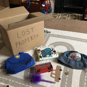 Pre-Writers Club: Lost Property