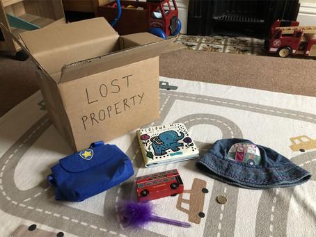 Pre-Writers Club: Lost Property