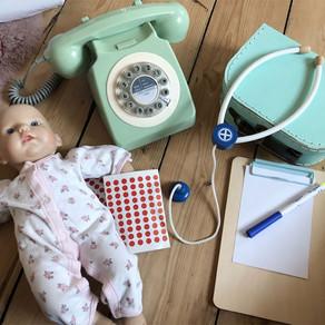 Pre-writers Club: Miss Polly had a Dolly