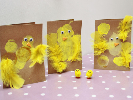 Spring Chicken Cards