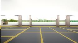 009 vista do estacionamento
