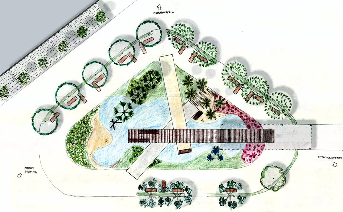 Planta de Paisagismo | Estudo Preliminar