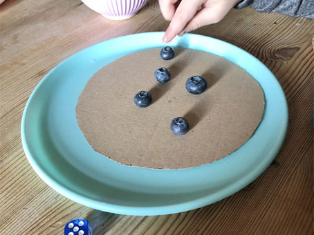 Pre-Writers Club: Blueberry Pancakes