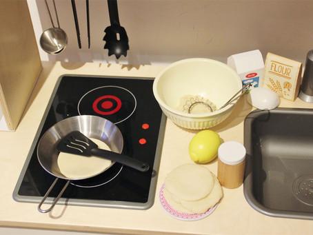 Pre-Writers Club: Pretend Pancakes