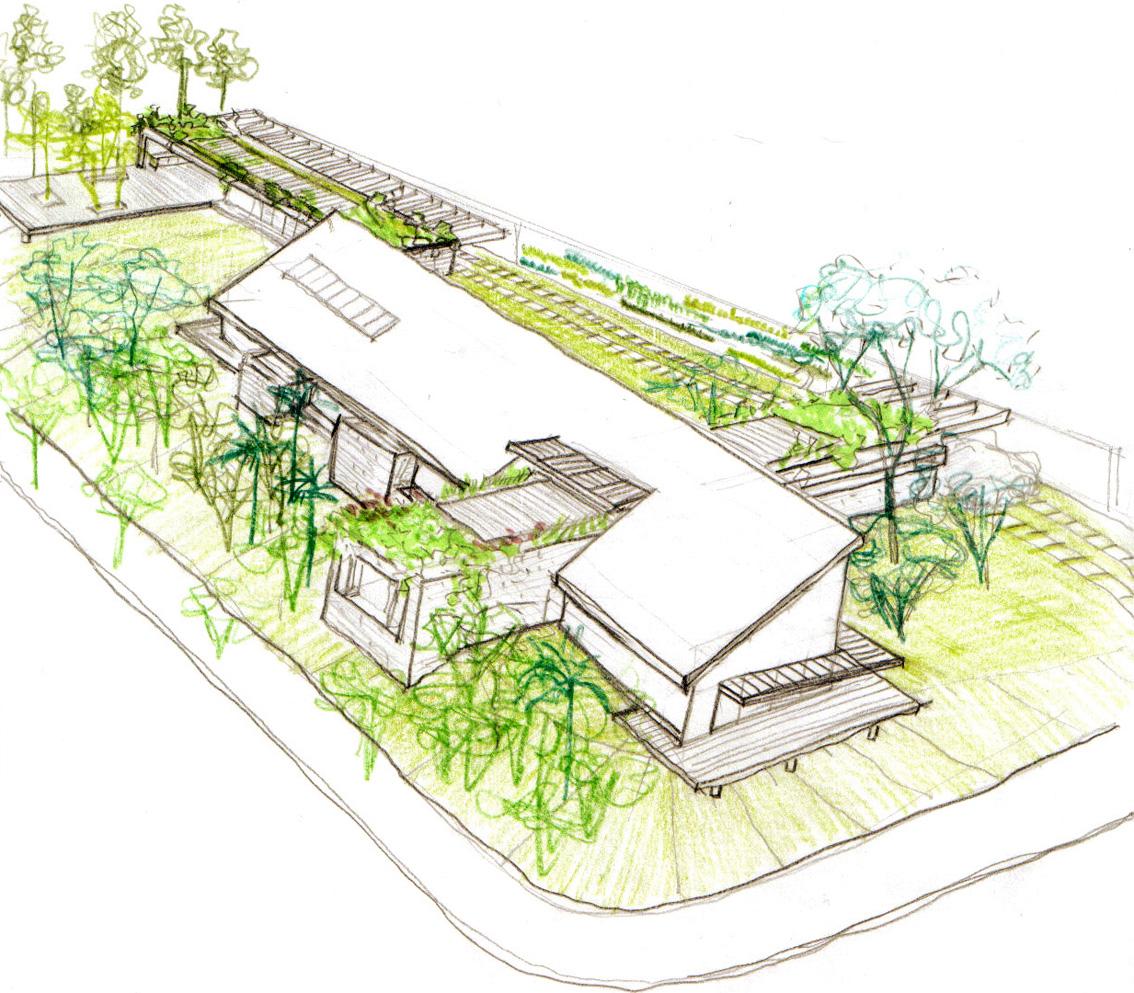 Perspectiva do Estudo Preliminar | Arquitetura e Paisagismo