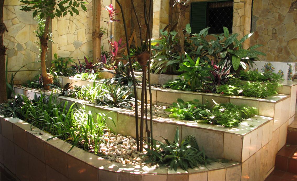Jardim escalonado