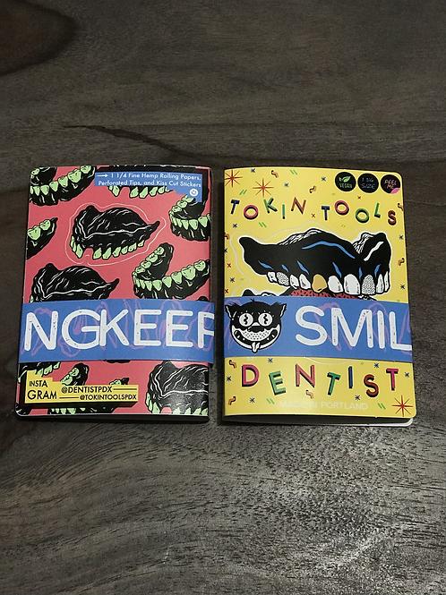 Dental Bonez x Tokin' Tools booklet