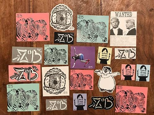 ZoB sticker pack