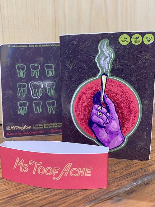 Ms. Toofache x Tokin' Tools booklet