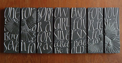 Louise Tiplady Lettercarving