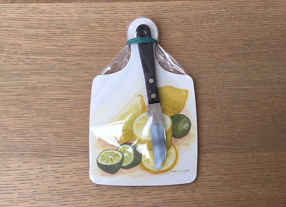 G&T Gift Pack (chopping board & knife)