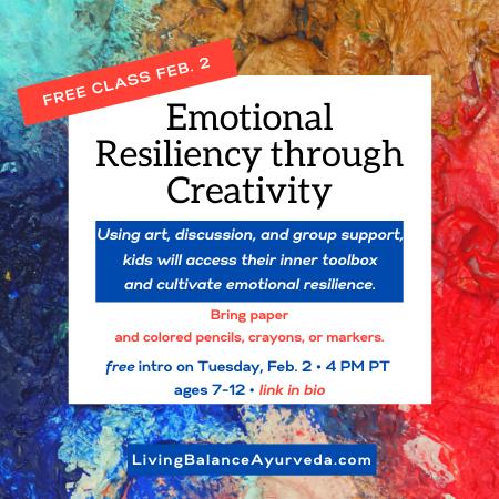 Emotional Resiliency through Creativity