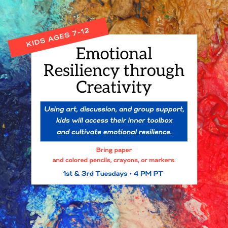 Kids' Emotional Resiliency through Creativity