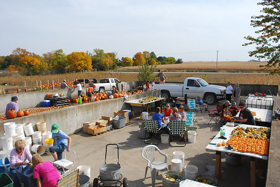 Iowa Gardening for Good staging area