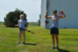 youth volunteers at Iowa Gardening for Good