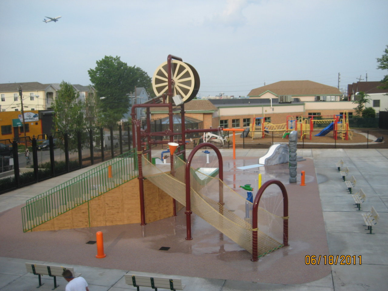 Mickey Walker Spray Park