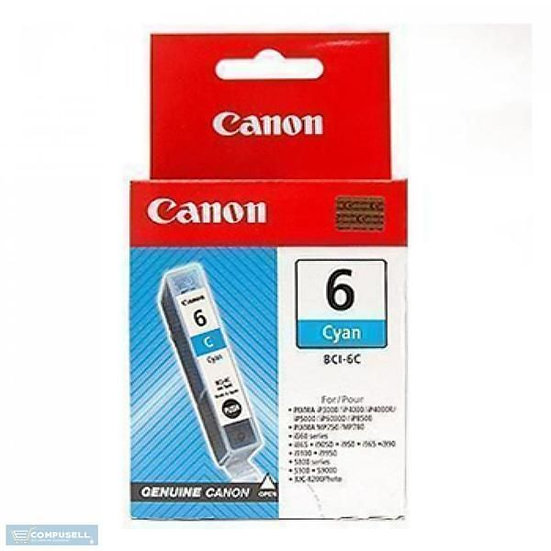 Canon Bci-6 Cyan Cartridge