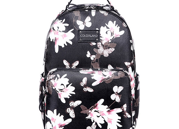 Colorland Mirabelle Faux Leather Backpack Changing Bag