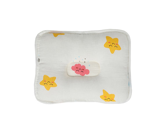 Babycare Colorland New born Pillow 100% Fine Cotton