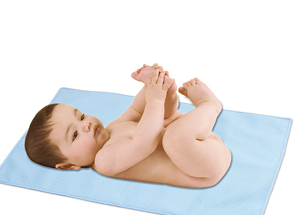 Babycare Colorland Breathable Cotton Rich Baby Cot/Baby bed mattress Protector
