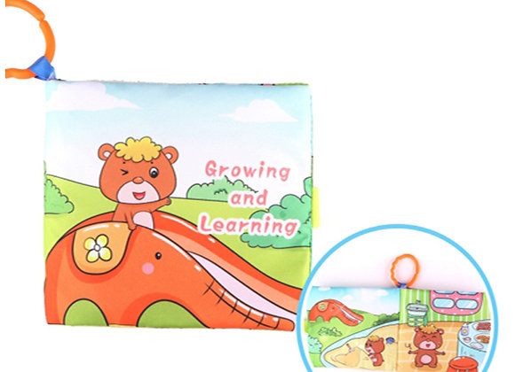 Babycare Colorland Smart Fabric Cartoon Color Books