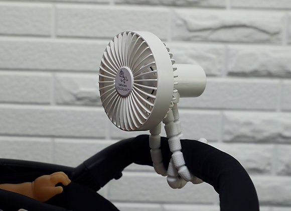 Babycare Colorland Octopus Style Mini Fan for mobile with pushchairs or travel