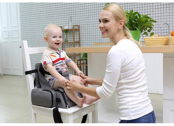 Sera Multiple Purposes Baby Booster Seat/Backpack/Diaper Bag