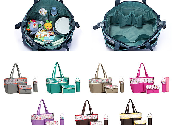 Gianna Large Tote Baby Changing Bag (30+ colours available)