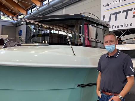 Christoph live von der Interboot in Friedrichshafen...