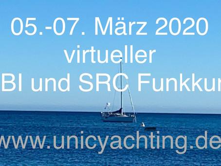 Nächster UBI und SRC Funkkurs - virtuell von überall...