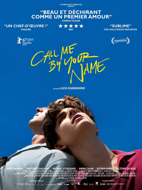 CALL ME BY YOUR NAME ...