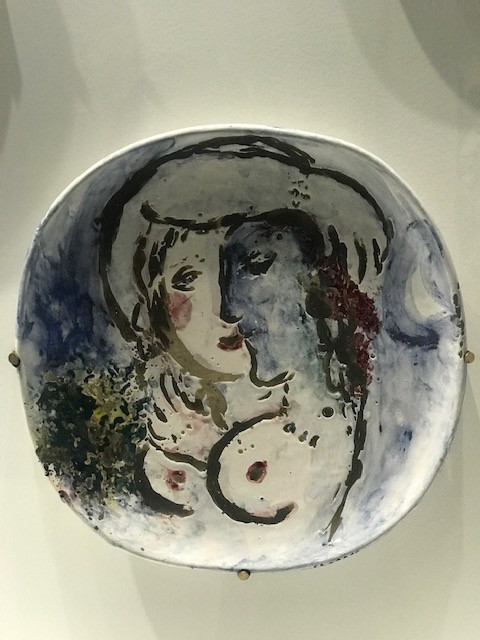 Deux Femmes - Marc Chagall Hotel de Caumont