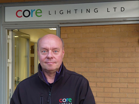 CORE Lighting talks battery power with Exhibition News