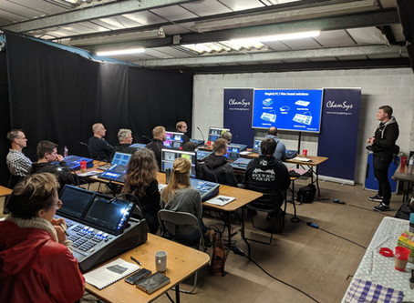 Fineline hosts LDs for MagicQ console training