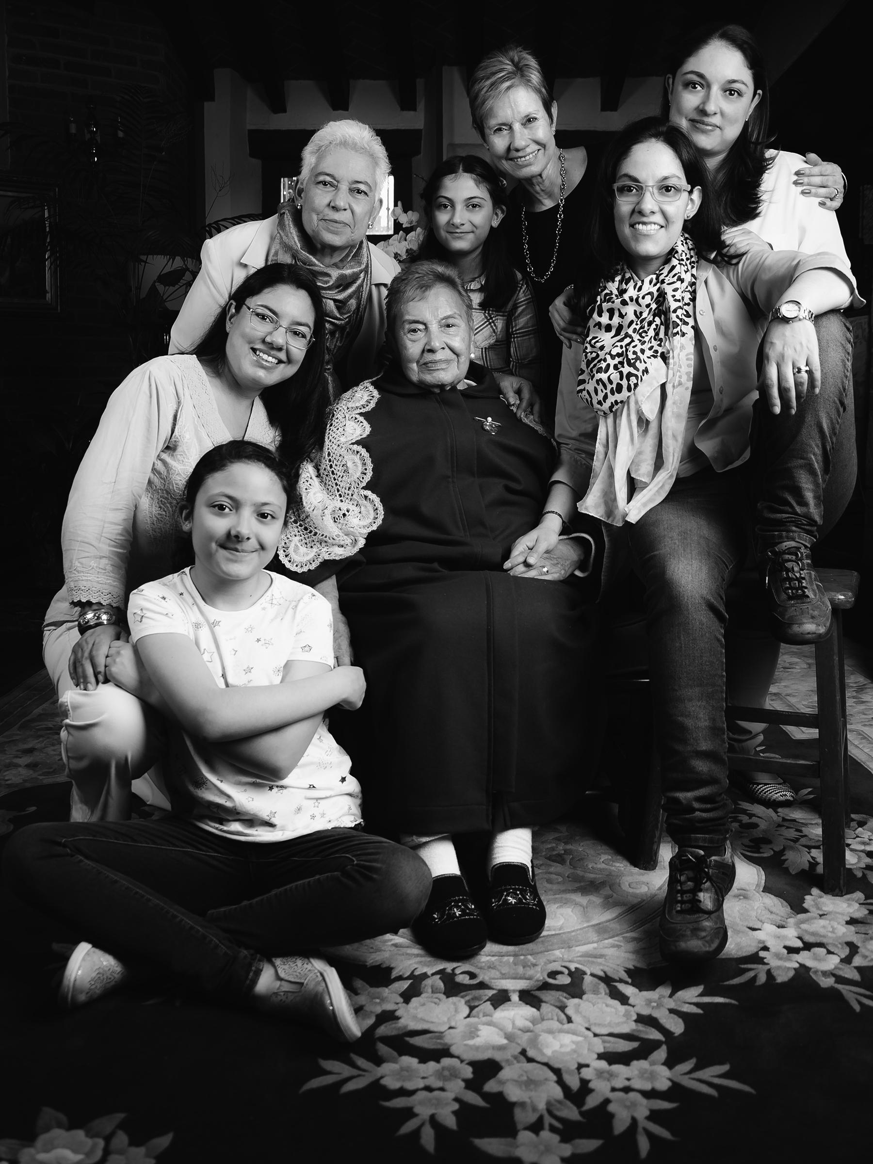 Fotografía de familia a domicilio