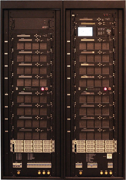 DVB-Tech Ku-Band GaN 4.5 kW SSPA Indoor System