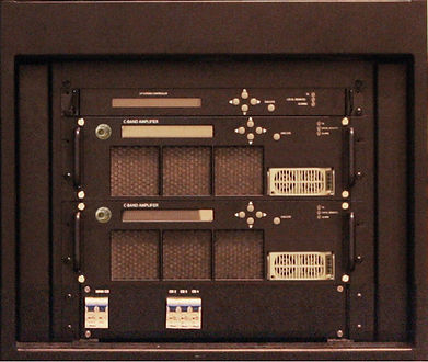 DVB-Tech C-Band 400W GAN SSPA Redundant System