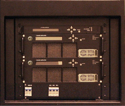 Indoor S-Band 1kW GaN SSPA System