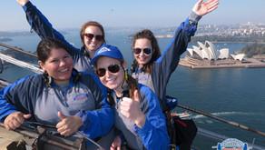 On Sunday we did the Sydney Harbour Bridge Climb!!