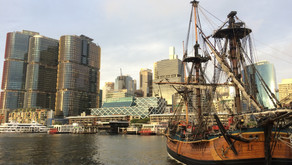 What a picturesque city Sydney is!