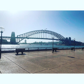 My first ever trip to Australia....