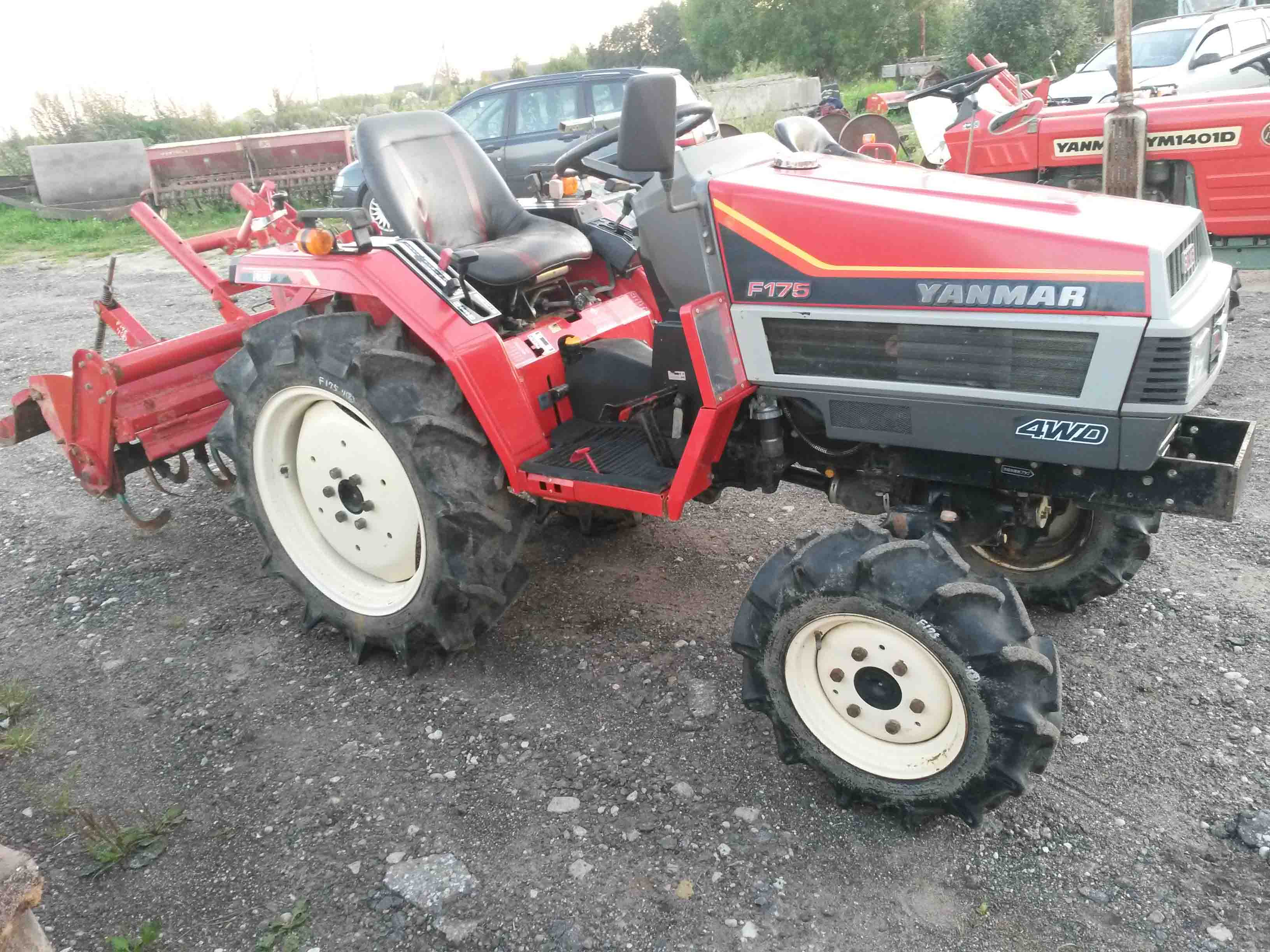 Yanmar F175 | NIPPON - compact tractors from Japan