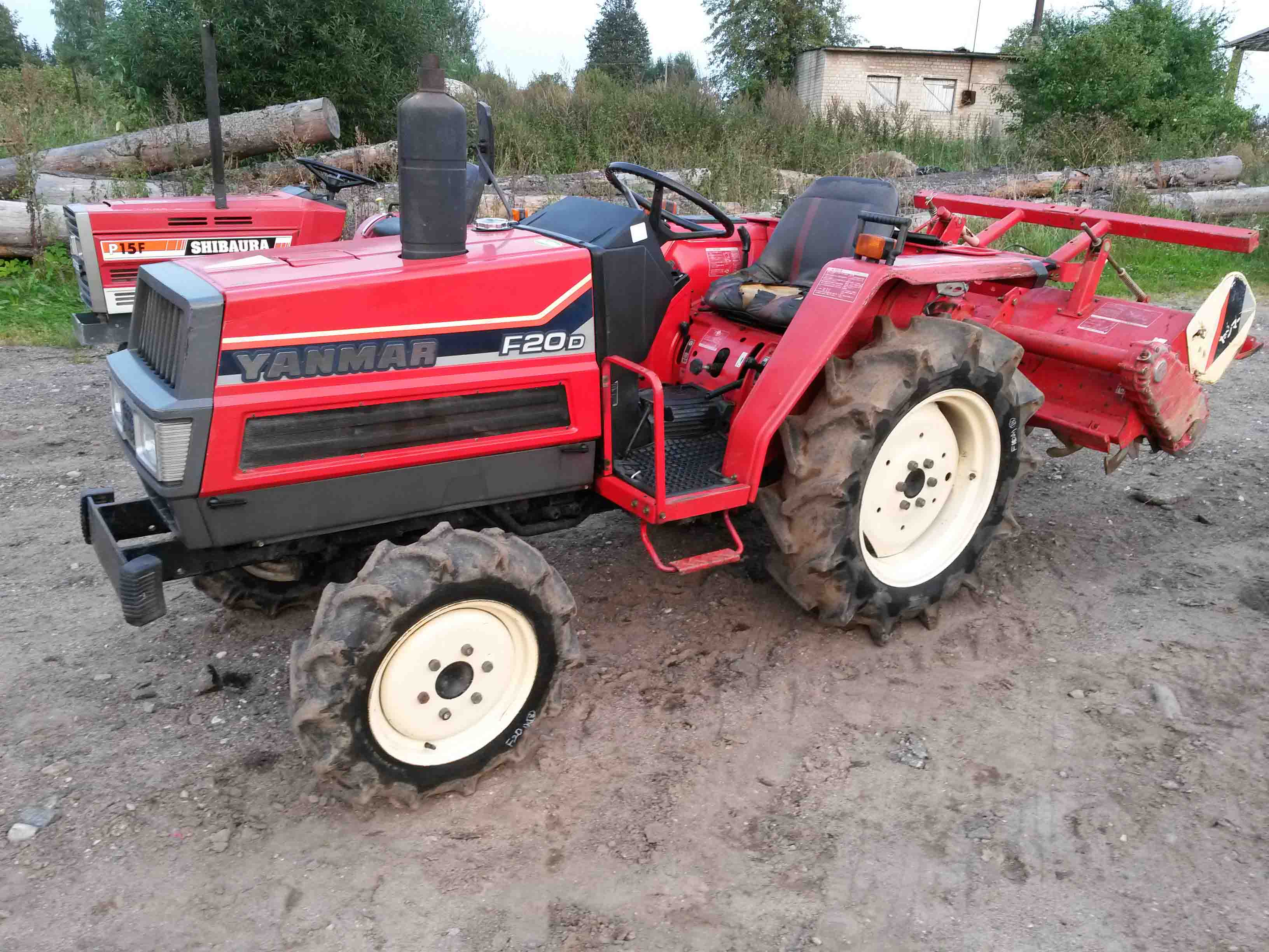 Yanmar F20D   NIPPON - compact tractors from Japan