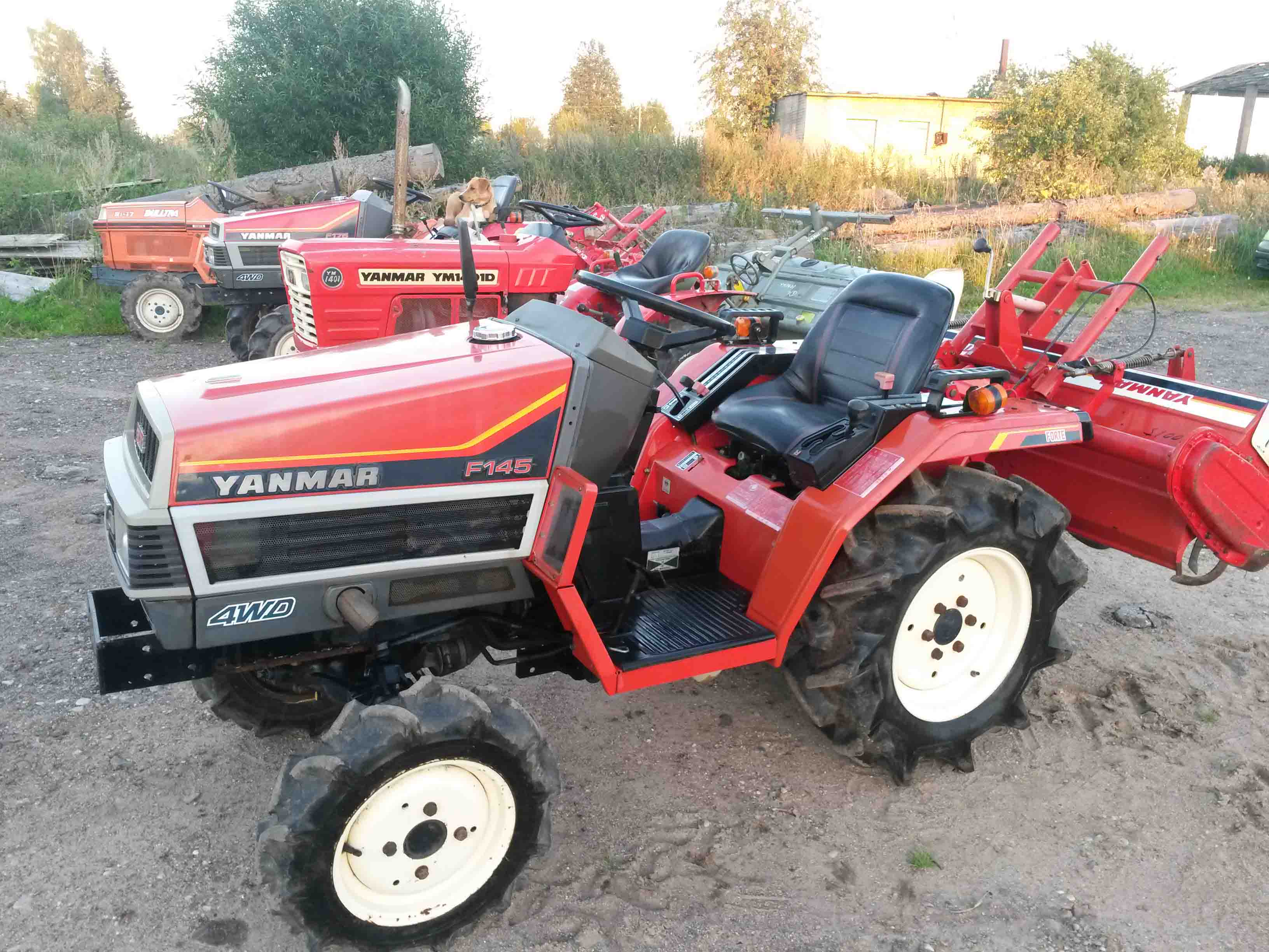 Yanmar F145 | NIPPON - compact tractors from Japan