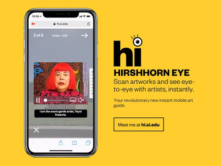 Hirshhorn Museum: 玩手機如何成為參觀展覽的指定動作﹖