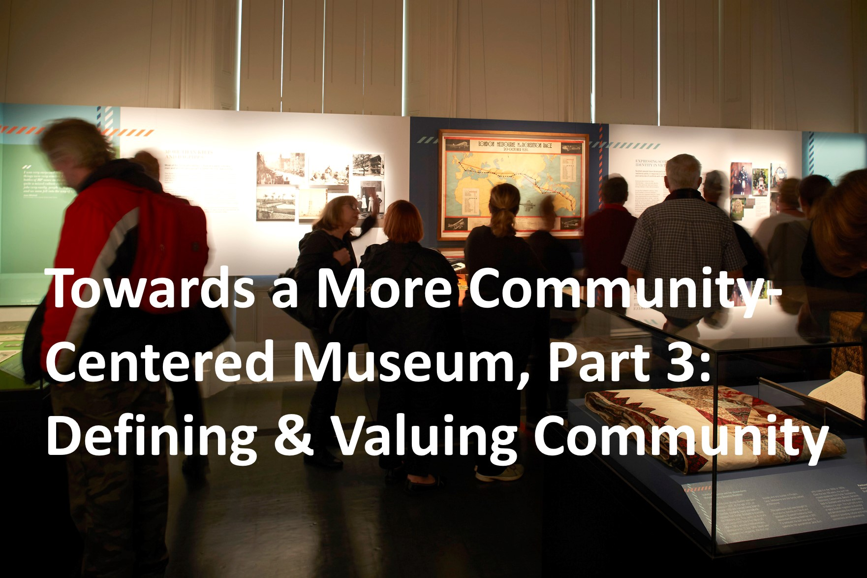 Defining & Valuing Community